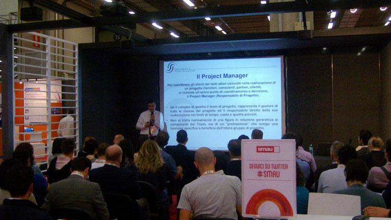 2014, Bologna – Workshop sul project management a SMAU